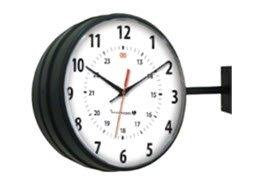 Innovation Wireless Black Hanging Clock-1